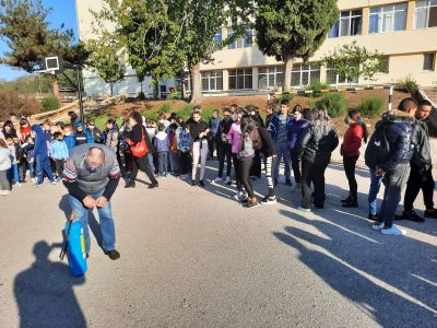 Учебна евакуация 4