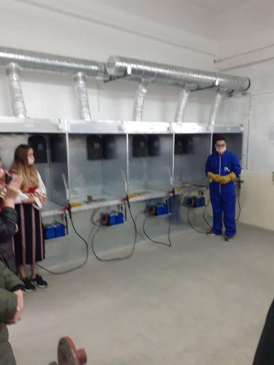 Откриване на учебен център 12
